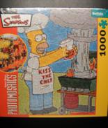 Buffalo Games Jigsaw Puzzle 2006 The Simpsons Photomosaic Robert Silver ... - $13.99