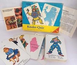 Kinder Quiz kinder-Quiz card game Ravensburger Germany Children complete... - $29.99
