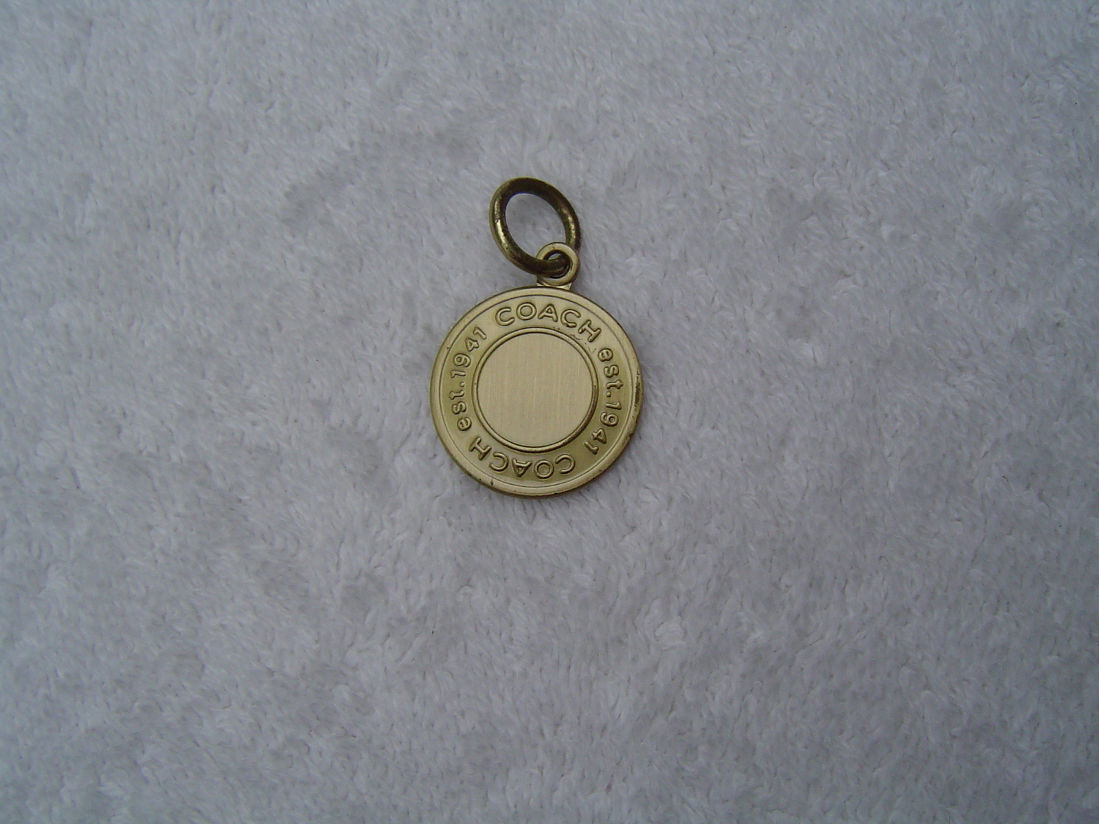 820383e169a4d Authentic Coach Gold Medallion Key and 50 similar items
