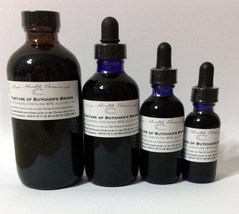 Butcher's Broom Tincture Extract, Circulation, Cramps, Bones, Butchers - $8.75+
