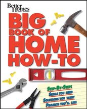 Big Book of Home How-To (Better Homes & Gardens Do It Yourself) Better H... - $4.00