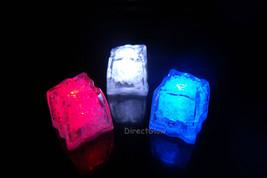 LiteCubes Light Up LED Ice Cubes Patriot Pack- 3pc Set - $11.54 CAD