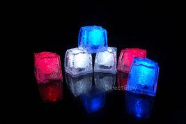 LiteCubes Light Up LED Ice Cubes Patriot Pack- 6pc Set - $19.29 CAD