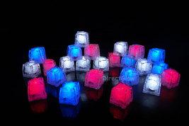 LiteCubes Light Up LED Ice Cubes Patriot Pack- 24pc Set - $58.00 CAD