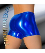 Thunderbox Metallic Spandex Choose COLOR & SIZE Gladiator Shorts! - $23.00
