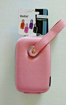 Vivitar Camera Case Universal Digital Hard Shell Wrislet Series Pink Gra... - $12.99