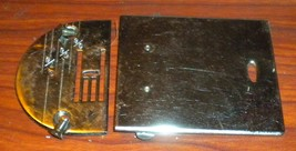 Kenmore 158.504 Needle Plate #4222 & Cover Plate #168 Used Working Parts - $12.50