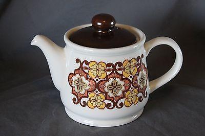 Retro Sadler England TeaPot 70s Floral Pattern midcentury Vintage