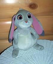 "DISNEY Sofia the First Long-Ears Gray Bunny Rabbit Clover 11"" SPECIAL - $6.59"