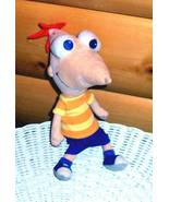 """Disney Ferb & Phineas 9"""" Plush Take-Along Character Doll Wants PlayMate - $5.99"""