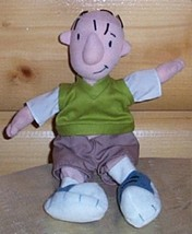 "Disney Plush Beans 8"" Doug Funnie Jim Jinkins Middle School Boy - $4.95"