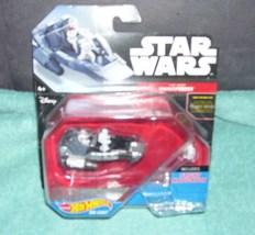 Hot Wheels Star Wars First Order Snowspeeder Diecast Vehicle New! - $7.96
