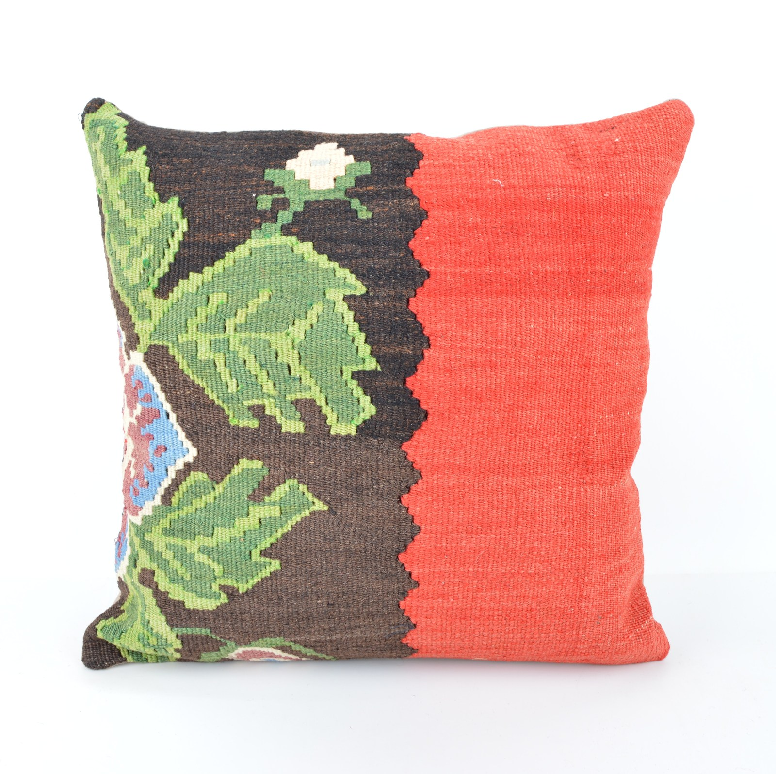 Decorative Lumbar Pillows Green : 16x16