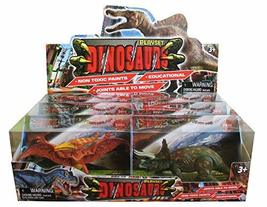 Dinosaurs World Toy Dinosaurs Figurine Figures Playset (Count of 6)