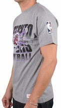 Mitchell & Ness Mens Basketball NBA Toronto Raptor Backboard Breaker T-Shirt NWT image 2