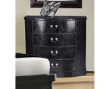 Black faux croc chest sterling industries chests cabinets chests furnishings thumb155 crop