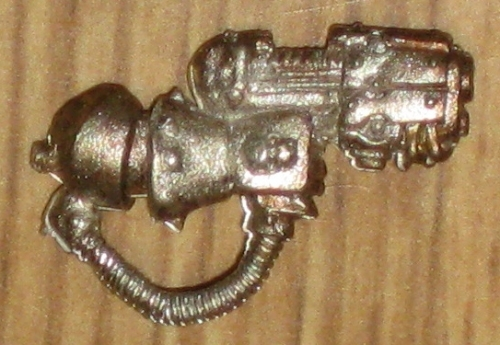 Warhammer 40,000 Chaos Space Marines Kharn the Betrayer Plasma Pistol new metal