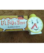 Avon Lil Folks Time Bubble Bath Empty  Plastic ... - $5.00