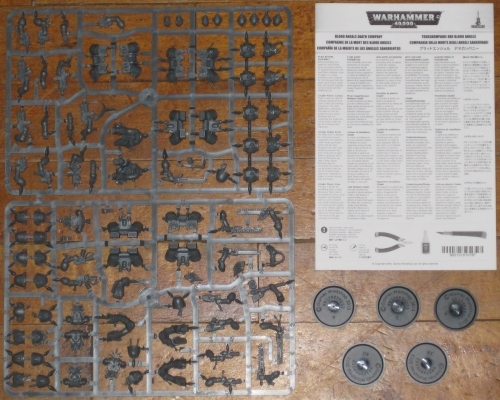 Warhammer 40,000 Blood Angels Space Marines Death Company new on sprue