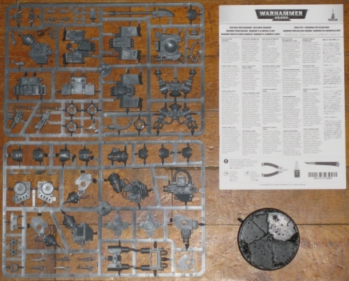 Warhammer 40,000 Blood Angels Space Marines Furioso Dreadnought new on sprue