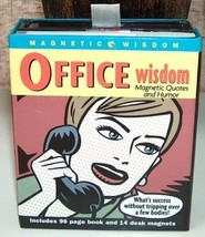 Office Wisdom Magnetic Quotes and Humor - $8.00