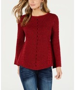 Style & Co. Women's Ribbed And Cabled Fitted Sweater - $32.90+
