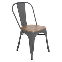 Lumisource Oregon Dining Chair Set of 2 Contemporary Dining Chair - £209.07 GBP