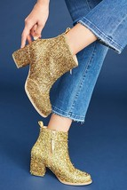 Anthropologie Bill Blass Tinsel Boots $228 Sz 7 - NWT - $118.99