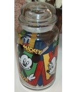 Disney Anchor Hocking Mickey Minnie Donald Cani... - $14.00