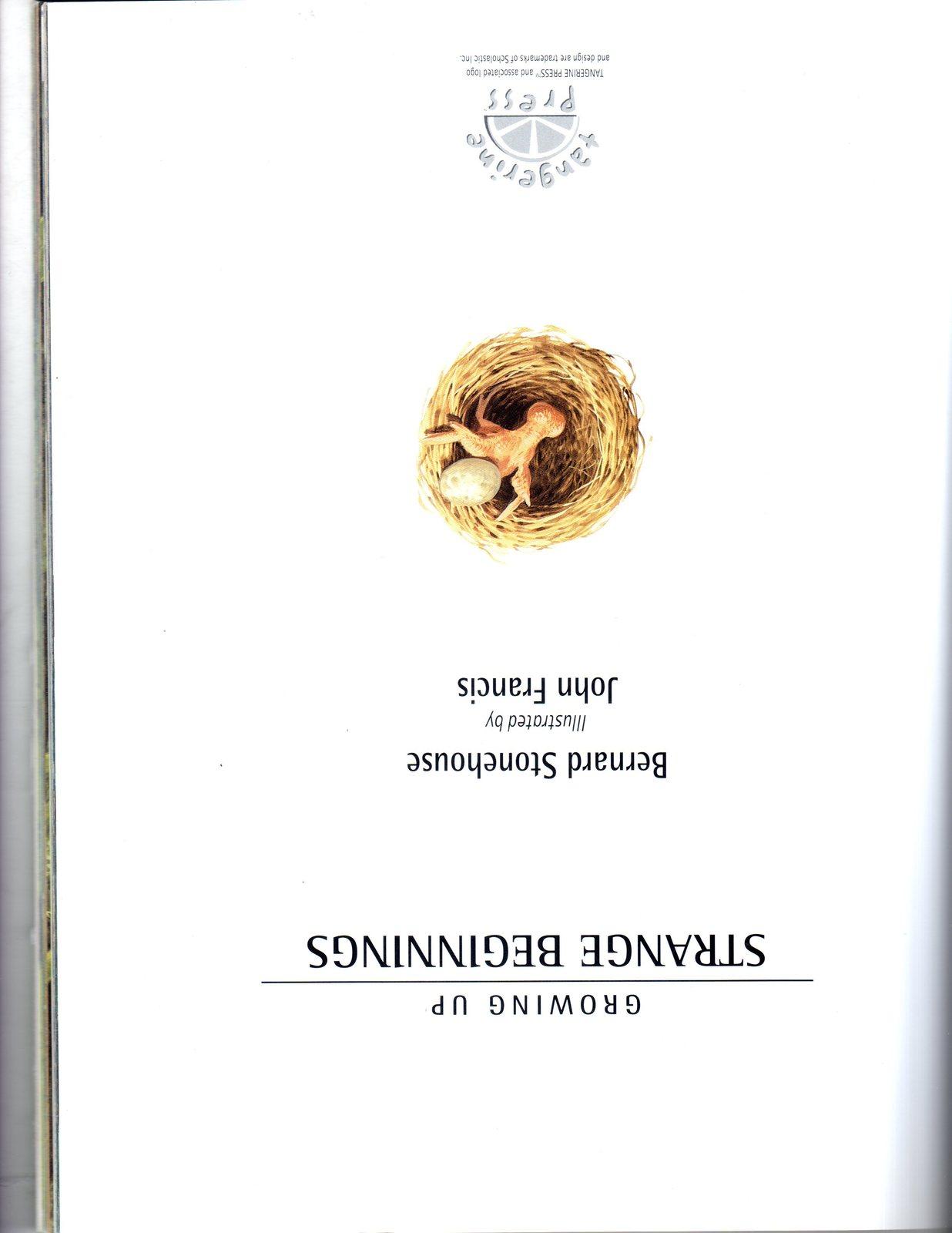 Growing Up Strange Beginnings by Bernard Stonehouse (2000)