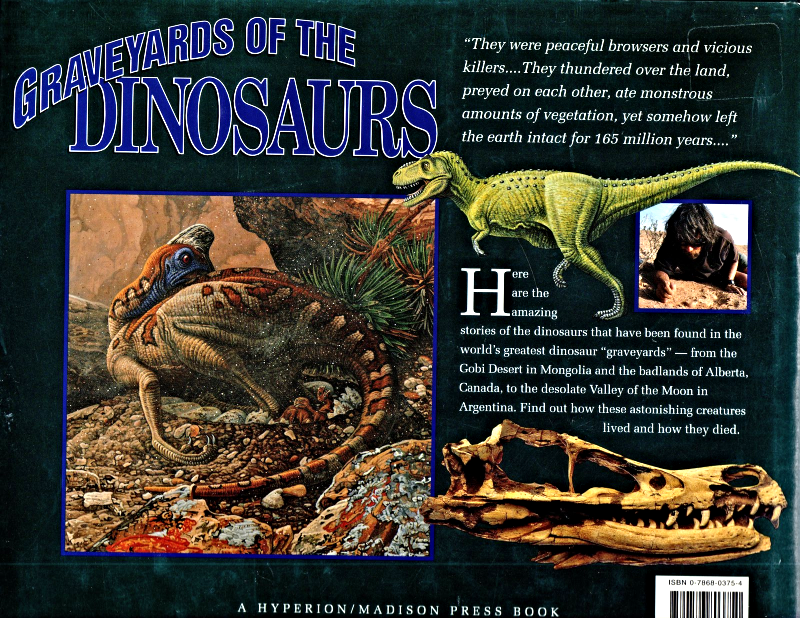 Graveyards Of The Dinosaurs By Shelley Tanaka