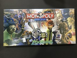 monopoly Zootopia & Monopoly 2 IN 1 trending Snake & Ladder game win pro... - $40.55