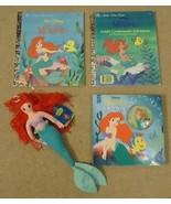Little Golden Book Disney Little Mermaid Doll - $18.16
