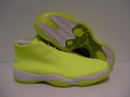 Jordan future shoes volt color size 14 new with box  - $118.75