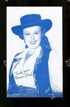 NOREEN NASH-1950-ARCADE CARD-PORTRAIT G - $16.30