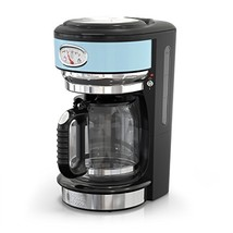 Russell Hobbs CM3100BLR Retro Style Coffeemaker 8-Cup Blue - $99.61