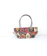 old kilim bag,rug bags,wool bags,Old handbag ,kilim & bag ,wool Leather ... - $179.00
