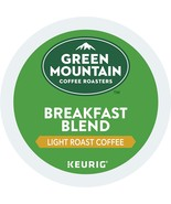 Green Mountain Coffee Breakfast Blend Keurig Single-Serve K-Cup Pods, Light Roas - $16.78