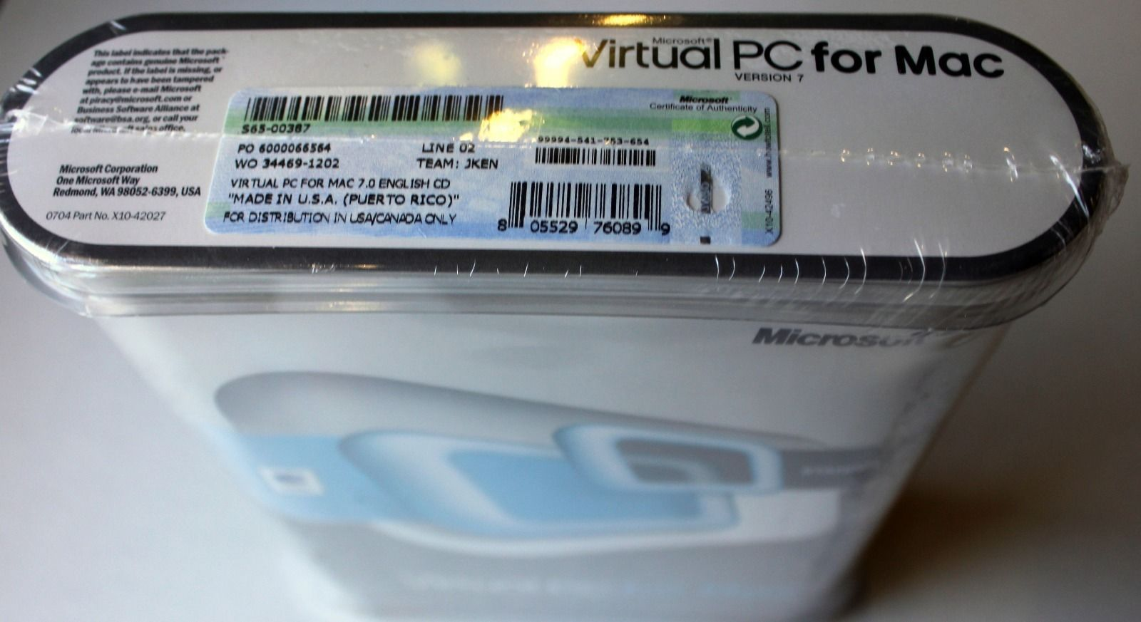 virtual pc for mac 7.0