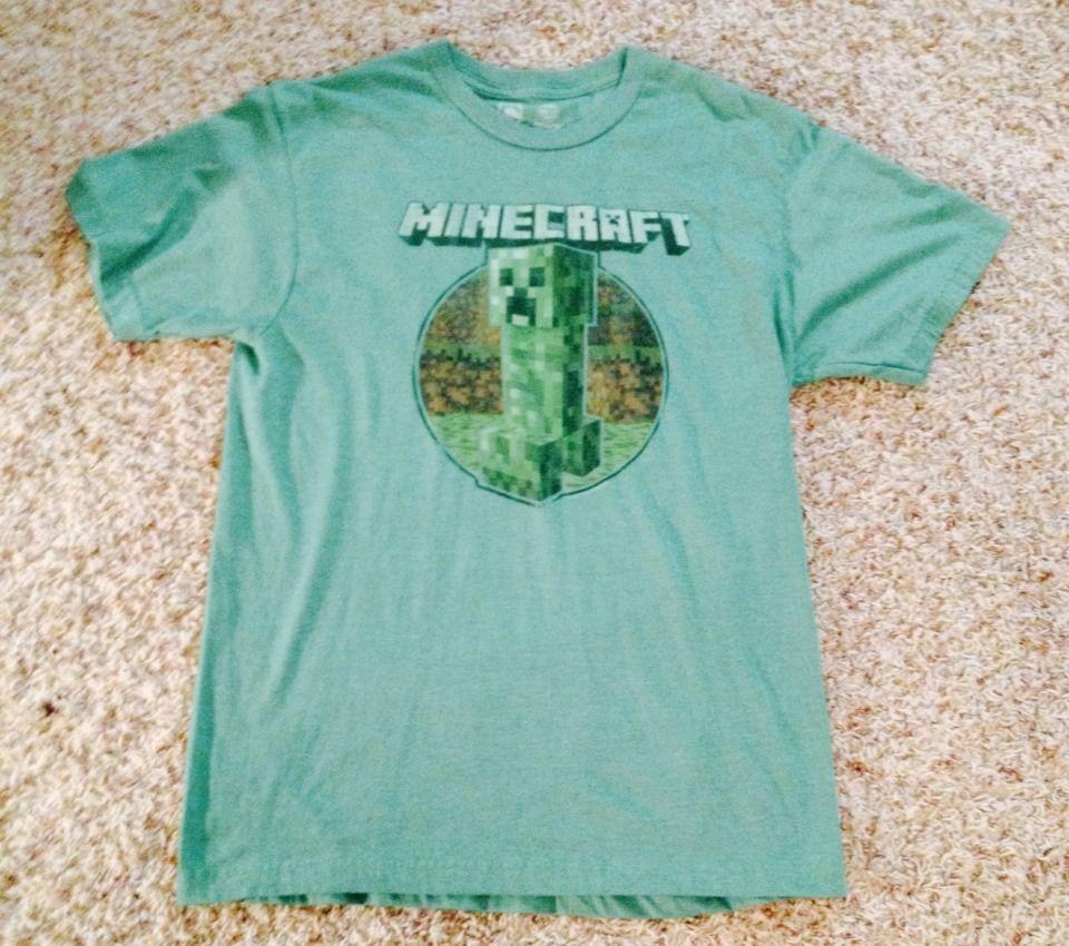 Minecraft Super Soft T Shirt Jinx Men 39 S Size And 29