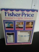 Fisher Price Sound N Lights Baby Monitor 1992 1550 Tested works great! Vintage - $24.74