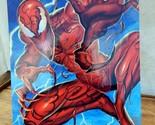 Spider Man Bad Guy Carnage Marvel Flair Master Print Portrait 1995 9 1/2 x 6 1/2
