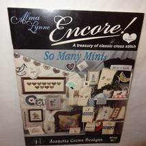 Encore Cross Stitch Pattern Leaflet Book Alma Lynne 8102 1999 Country 17... - $13.99