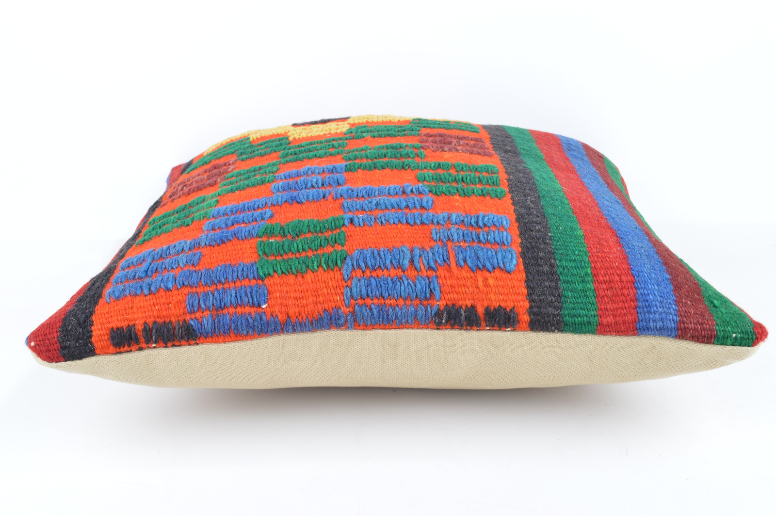 Maia Modern Pillows : Accent embroidered pillows cute pillows modern pillows throw pillow orange green - Pillows