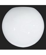 Ball Light Shade Neckless 5 1/4 X 12 Mid Century Modern Milk Glass for P... - $19.95