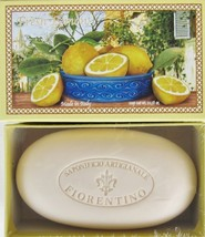 Lemon Bar Soap Single 310ml Soap Bar From­ Italy - $18.02