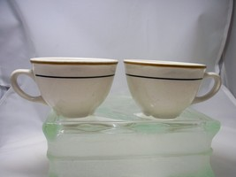 Homer Laughlin Vintage (2 ea) Best China Restauraunt Cups from early 197... - $11.66