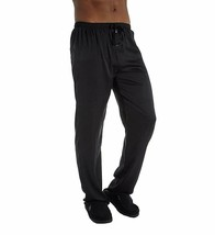 Hartman BLACK Essentials Classic Sueded Charmeuse Lounge Pant, US Large - $20.69