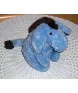 "Winnie Pooh Disney Ultra Soft 9"" Plush Cuddle Baby Safe Donkey Eeyore - $4.89"