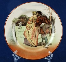 "Royal Doulton Sir Roger de Coverley 6.5"" Bread Plate D3418 I-10 #4 Court... - $12.00"